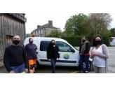 Les premiers masques sont distribués